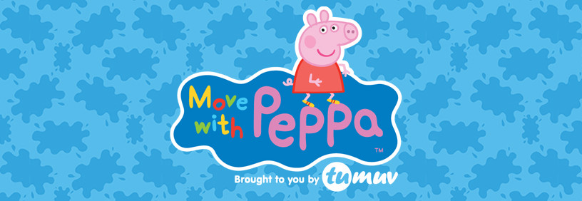 Say Hello to Move with Peppa